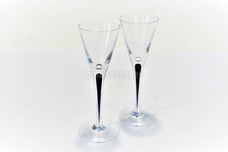 ペアのワイングラスの写真素材 [FYI03422964]