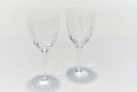 ペアのワイングラスの写真素材 [FYI03422965]