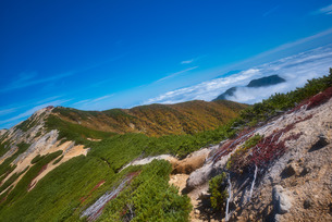 燕岳 日本 長野県 安曇野市の写真素材 [FYI03423022]