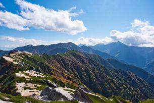 燕岳 日本 長野県 安曇野市の写真素材 [FYI03423023]