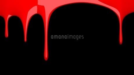 Red liquid on black backgroundのイラスト素材 [FYI03423978]
