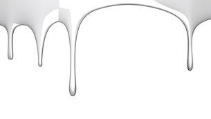 White liquid on white backgroundのイラスト素材 [FYI03423990]
