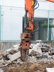 建物の解体工事の写真素材 [FYI03424245]