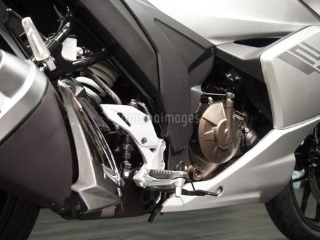 オートバイのステップの写真素材 [FYI03424262]