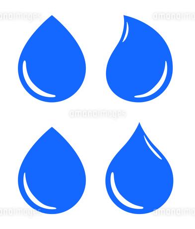水滴アイコンセット のイラスト素材 [FYI03424282]