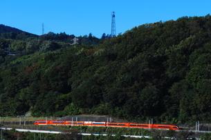 小田急ロマンスカーGSEの写真素材 [FYI03424728]