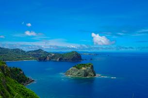 小笠原父島 ウェザーステーションからの眺望の写真素材 [FYI03424833]