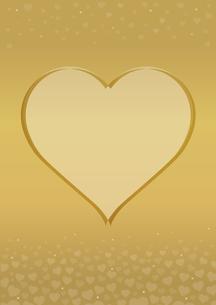 ハート グラフィックス ゴールドのイラスト素材 [FYI03425488]