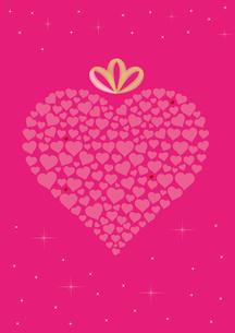 ハート グラフィックス ピンクのイラスト素材 [FYI03425493]