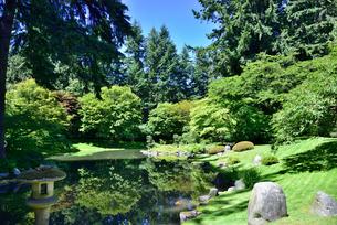 ブリティッシュコロンビア大学 新渡戸紀念庭園の写真素材 [FYI03425701]