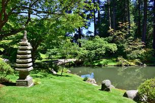 ブリティッシュコロンビア大学 新渡戸紀念庭園の写真素材 [FYI03425702]