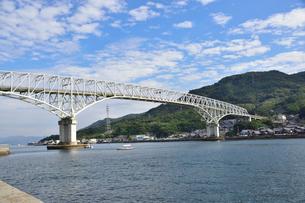 広島湾倉橋島江田島をつなぐ早瀬大橋の写真素材 [FYI03425838]
