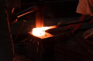 鉄の鍛造の写真素材 [FYI03425872]