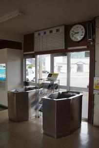 廃線跡 旧広尾線広尾駅の写真素材 [FYI03425921]
