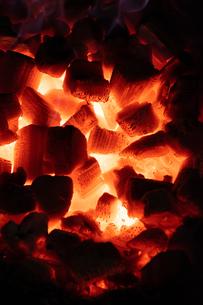 炭火の写真素材 [FYI03425950]