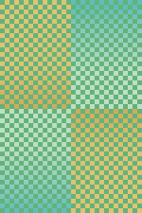 チェック 緑 金のイラスト素材 [FYI03425986]