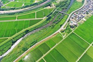 新潟県の田園風景の写真素材 [FYI03426276]