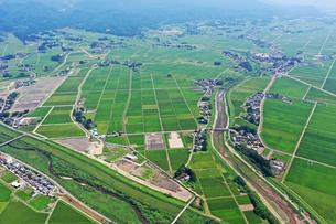 新潟県の田園風景の写真素材 [FYI03426277]