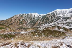 初冬の立山の写真素材 [FYI03426867]