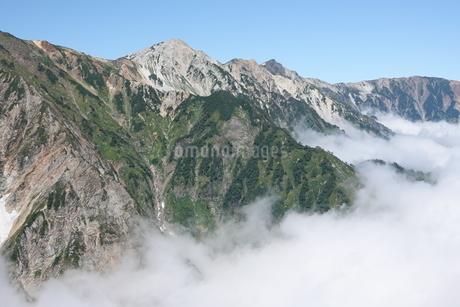 白馬三山と雲海の写真素材 [FYI03426907]