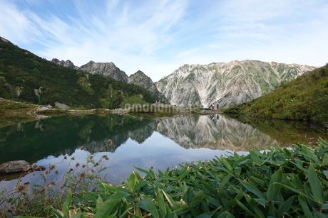 八方池と白馬三山の写真素材 [FYI03426909]