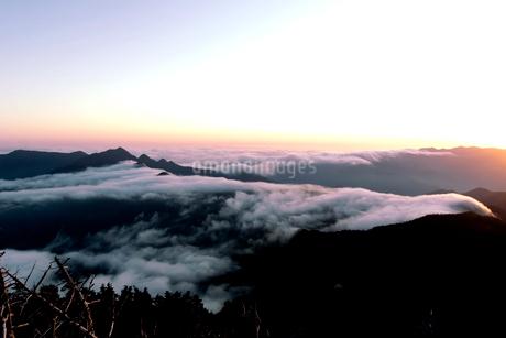 雲海の写真素材 [FYI03427066]