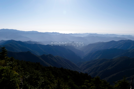 紀伊山地の写真素材 [FYI03427067]