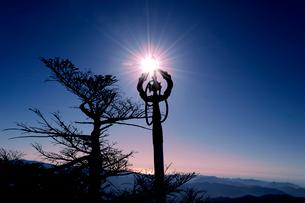 八経ヶ岳 錫杖の写真素材 [FYI03427071]