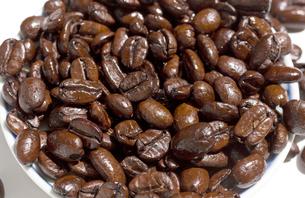 コーヒー豆 アラビカ種 焙煎の写真素材 [FYI03427084]