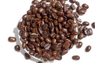 コーヒー豆 アラビカ種 焙煎の写真素材 [FYI03427085]