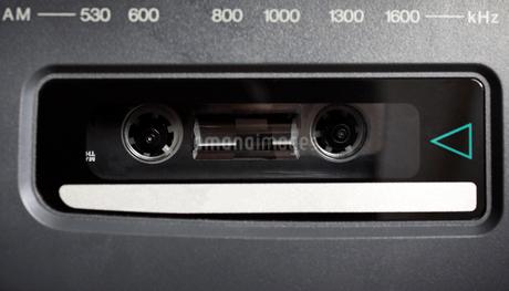 ラジカセ カセットレコーダーの写真素材 [FYI03427092]