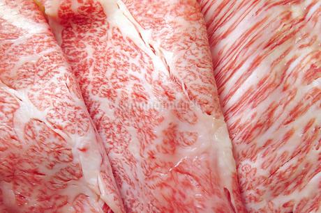 牛肩ロースすき焼用の写真素材 [FYI03427103]