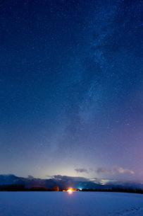 冬の天の川の写真素材 [FYI03427196]