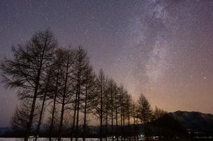 冬の天の川の写真素材 [FYI03427202]