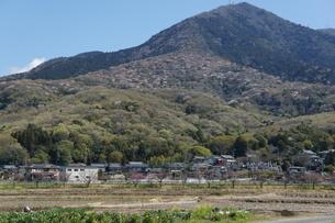 筑波山麓の田園風景の写真素材 [FYI03427456]