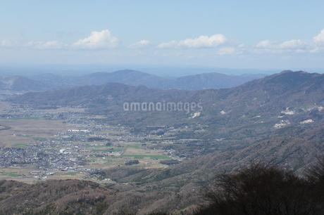 筑波山山頂より見たつくば市内の写真素材 [FYI03427480]
