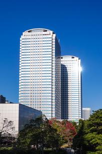 幕張新都心の超高層ビル群の写真素材 [FYI03427650]