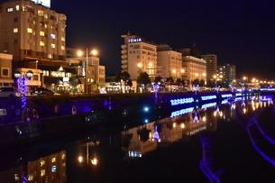 小樽運河の写真素材 [FYI03427786]