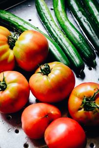 夏野菜の写真素材 [FYI03427807]