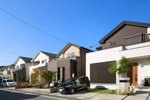 東京近郊の住宅街の写真素材 [FYI03427983]