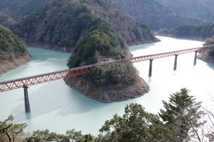 大井川鉄道湖上駅の写真素材 [FYI03428857]