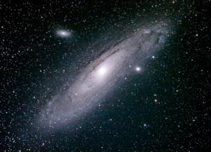 アンドロメダ銀河M31の写真素材 [FYI03429139]