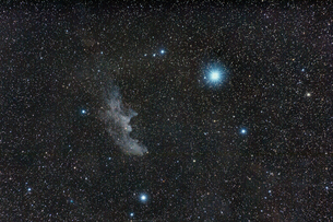 魔女の横顔星雲の写真素材 [FYI03429143]