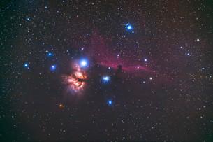 馬頭星雲IC434の写真素材 [FYI03429144]