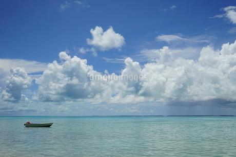 キリバス タラワ島の写真素材 [FYI03429239]