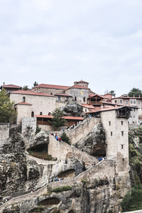メガロ・メテオロン修道院の写真素材 [FYI03429278]