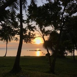 ビンタン島 サンセットの写真素材 [FYI03429543]