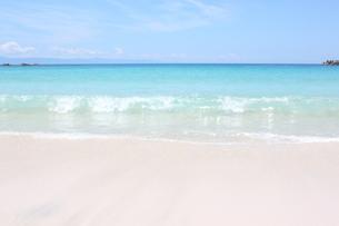 砂浜と海の写真素材(種子島)の写真素材 [FYI03429579]