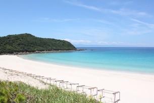 砂浜と海の写真素材(種子島)の写真素材 [FYI03429594]