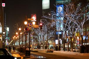冬の札幌の写真素材 [FYI03429624]